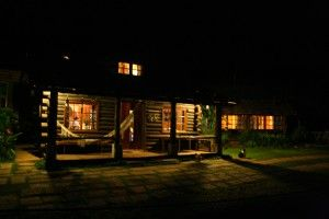 The Eco-lodge Itororo by night 3